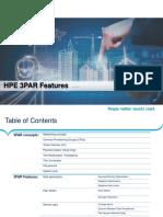 HPE 3PAR Features