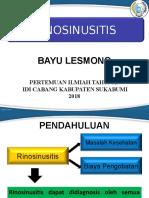 Rinosinusitis Bayu Pit Idi Sukabumi [Autosaved]