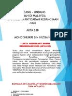 Akta Agensi Antidadah 2004