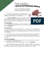 Primeiros Povos Península Ibérica - 2