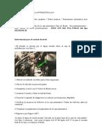 Cambio de Aceite Caja AL4