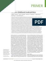 Jurnal Review Severe Malnutrition
