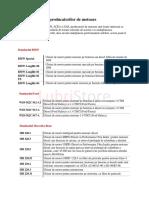 specificatii_producatori ulei motor