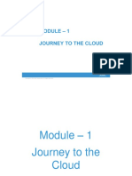 CIS Module 1 Journey to the Cloud