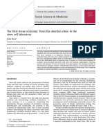 The Fetal Tissue Economy From the Abortion Clinic to the Stem Cell Laboratory 2008 Social Science Medicine