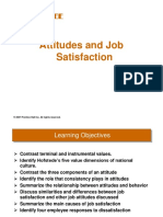 Chapt -3 - Attitudes & Job Satisfaction
