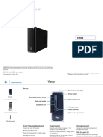 Inspiron 3647 Small Desktop Reference Guide en Us