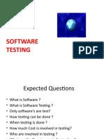 Unit 1 Software Testing