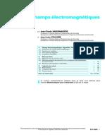 Calcul Des Champs Électromagnétiques