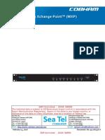 SeaTel MXP User Manual