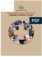 Punjab Health Sector Plan 2018 0
