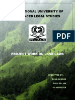 land law project Roll No 938.docx