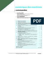 Commande Numérique Des Machines-1