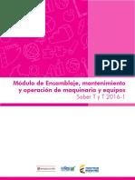 Modulo de ensamblaje mantenimiento y operacion de maquinaria y equipo saber tyt 20161.pdf