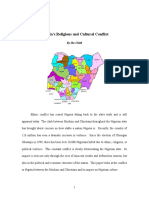 Nigeria's Religious and Cultural Conflict.doc