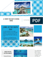 A Sunny Holiday in Bora Bora