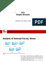 Stress - Strength of Materials
