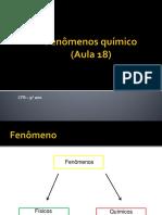 AULA 18 - Fenômeno Químico