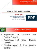 Topic Report of Group 7 - Quantity and Quality Control.pptx
