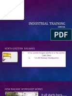 Industrial Training Indian Railway