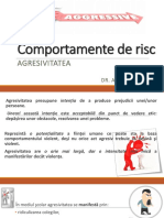 Comportamente de Risc. Agresivitate