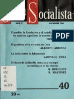 Cuba Socialista n° 40 (La Habana, diciembre 1964).pdf