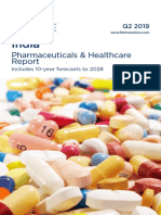 India Pharmaceuticals & Healthcare Report - Q2 2019