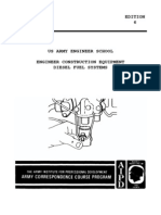 (eBook - English) US Army - Engineer Course EN5259 - Construction Equipment (Diesel Fuel Systems)