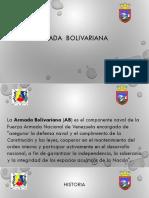 Armada Bolivariana Presentacion