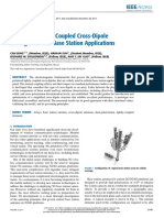 Simplified Tightly-Coupled Cross-Dipole Arrangement for Base Station Applications