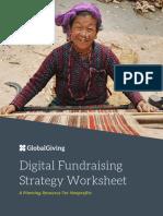 Digital Fundraising Strategy Worksheet