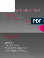 Anti diuretics ppt