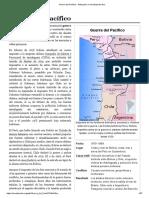 Guerra Del Pacífico - Wikipedia, La Enciclopedia Libre