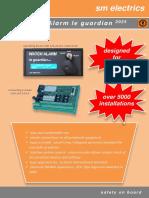 Dead Man Alarm DMA English Brochure