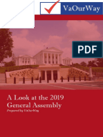 2019 Vow Ga Report