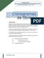12.0 CRONOGRAMA