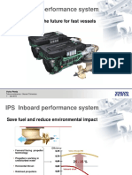 IPS Inboard Performance System. Volvo Penta IPS, The Future for Fast Vessels