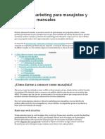 Ideas de marketing para masajistas y terapeutas manuales.docx