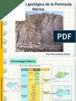 Historia Geologica de La Peninsula Iberica