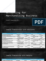 Accounting for Merchandising Business- Sample Transactions.pptx