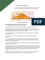 Principles of Dam Design Notes 1_design of Earth Dams