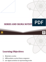 (7) Series and Sigma Notation
