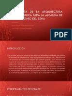 Propuesta de La Arquitectura Tecnológica Para La Alcaldía (1)