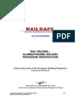 4 - RAILSAFE Welding Procedures Final