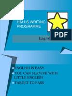Galus Writing Programme