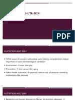 15. Dermatology Nutrition