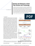 Review and Advances in Heat Pipe Faghri2012