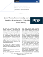 Queer Theory, Intersectionality, and LGBT-Parent Families