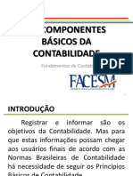 Componentes Básicos Da Contabilidade FACESM