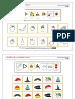 BLOQUE 1 - DESARROLLO DE LAS HABILIDADES BÁSICAS - Discriminación Visual (ARASAAC)